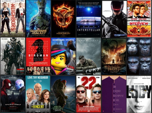 My Year at the Movies